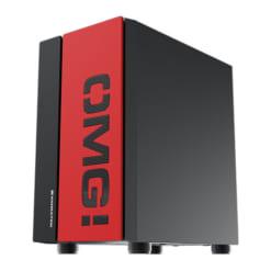 Vỏ case Xigmatek OMG đen đỏ (EN45244) (Mini Tower)