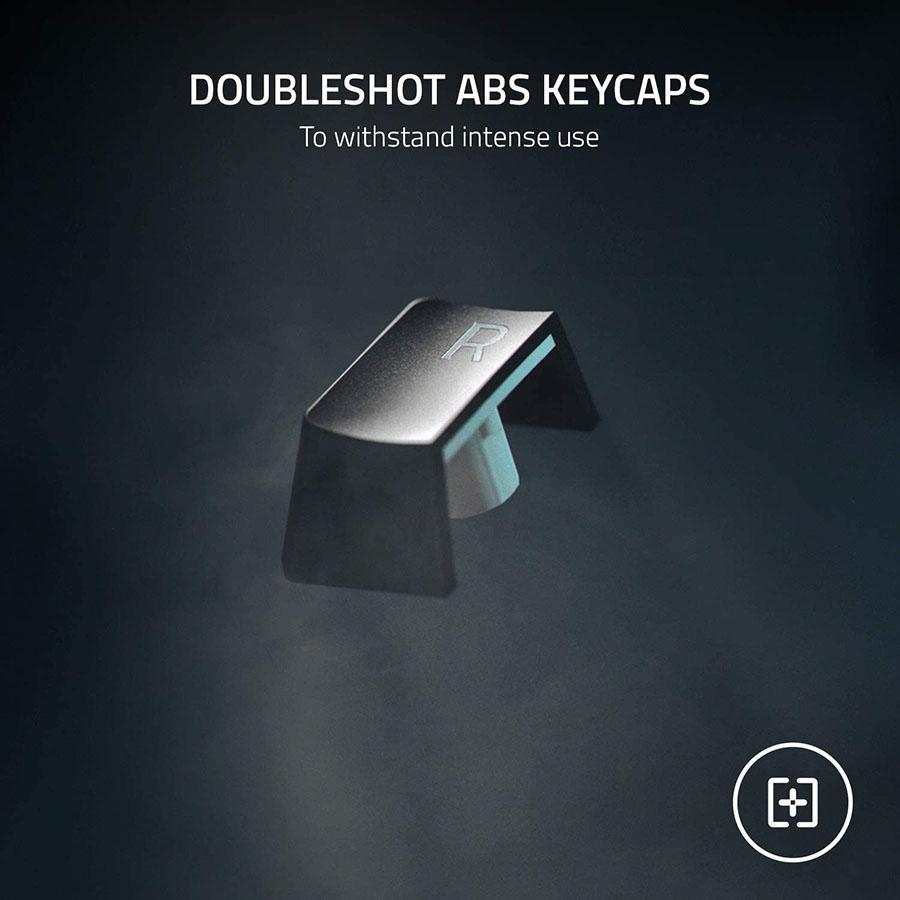 Phím kép ABS trong suốt và bền