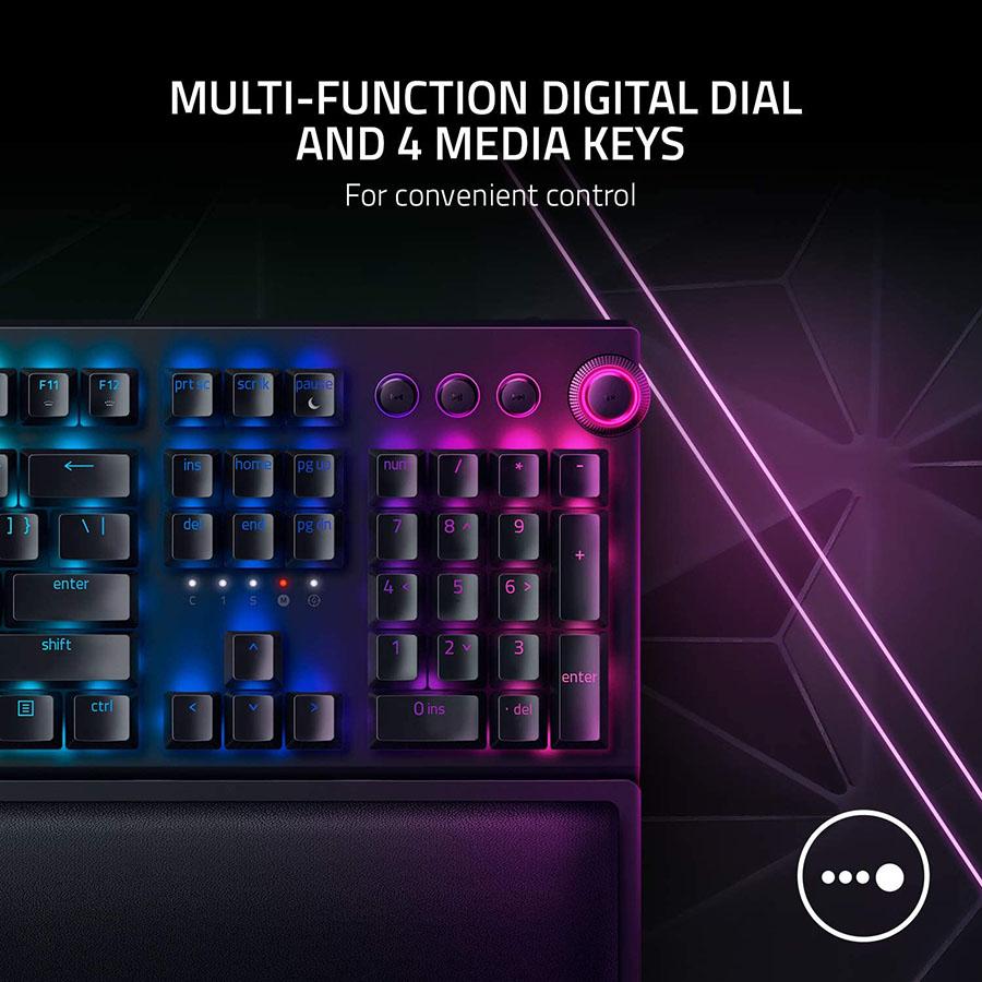 4 phím đa chức năng tùy chỉnh ánh sáng, âm lượng