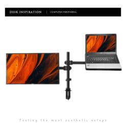 Giá treo màn hình máy tính và laptop kẹp bàn GM01