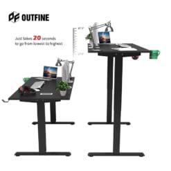Bàn làm việc đứng điều chỉnh độ cao Outfine