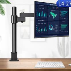 Giá treo màn hình máy tính gắn bàn tay ngắn xoay 360 độ GM05